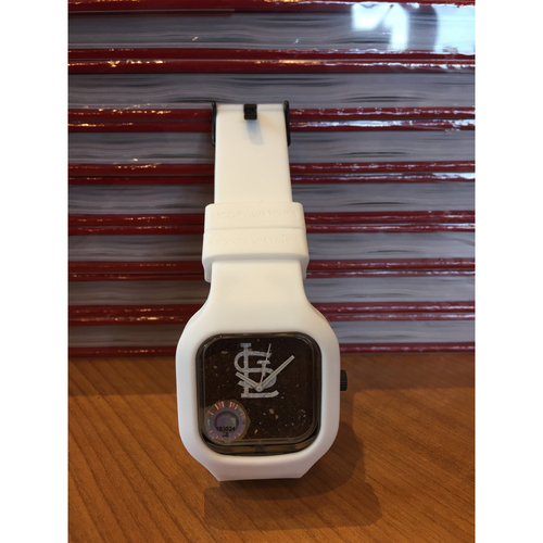 Busch Stadium Dirt Watch - White