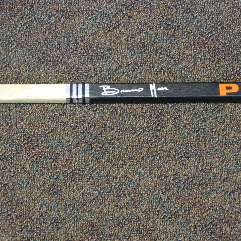 Flyers Charities Stick Auction: Bruno Mars Signed Philadelphia Flyers Stick