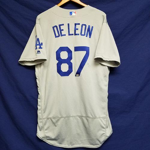 Photo of Jose DeLeon 2016 Season Team-Issued Road Jersey
