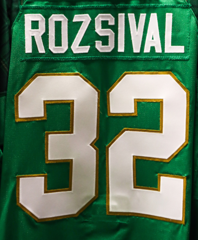 #32 - Michal Rozsival Autographed Authentic St. Patrick's Day Jersey