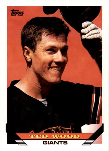 Photo of 1993 Topps #698 Ted Wood