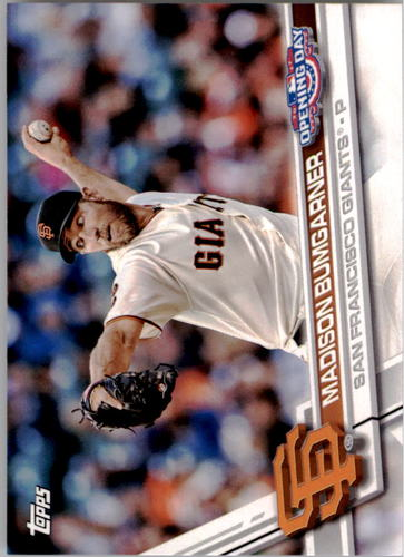 Photo of 2017 Topps Opening Day #135A Madison Bumgarner