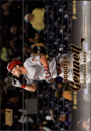 Photo of 2017 Stadium Club Gold Foil #132 Scooter Gennett