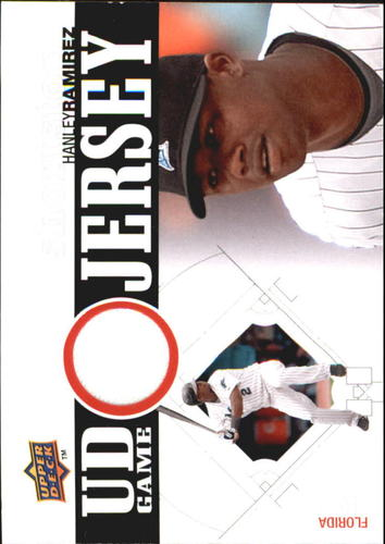 Photo of 2010 Upper Deck UD Game Jersey #HR Hanley Ramirez