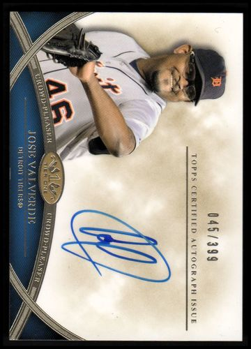 Photo of 2012 Topps Tier One Crowd Pleaser Autographs #JV Jose Valverde/399