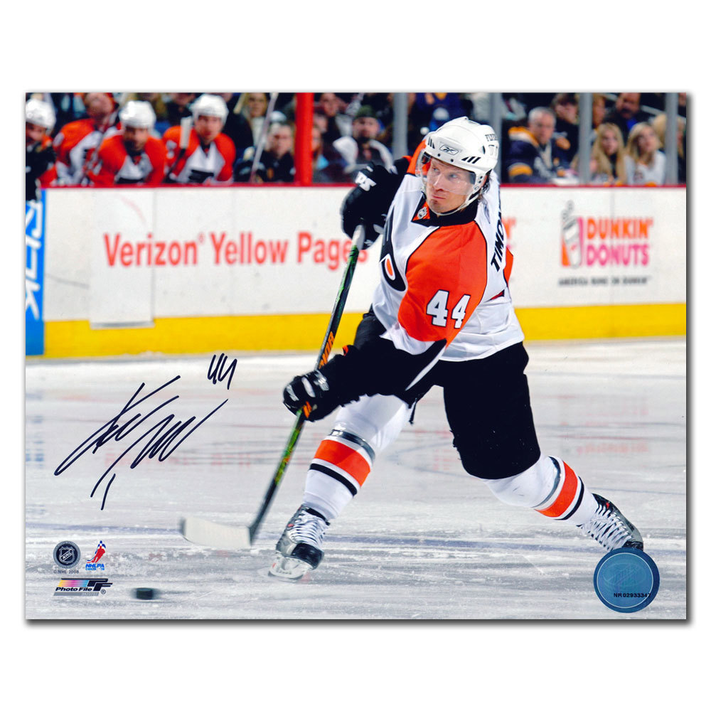 Kimmo Timonen Philadelphia Flyers Autographed 8x10