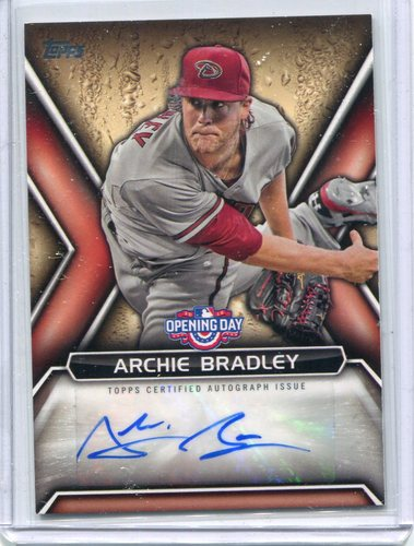 Photo of 2016 Topps Opening Day Autographs #ODAAB Archie Bradley
