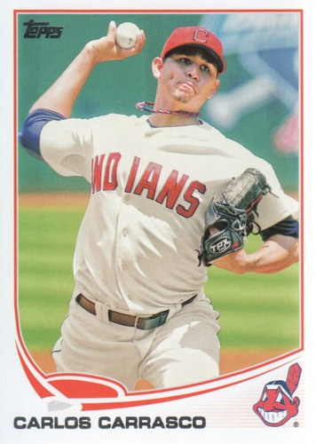 Photo of 2013 Topps #599 Carlos Carrasco