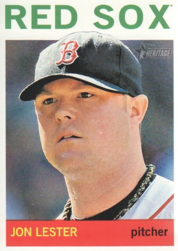 Photo of 2013 Topps Heritage #170 Jon Lester