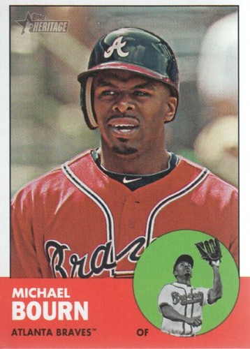 Photo of 2012 Topps Heritage #46 Michael Bourn