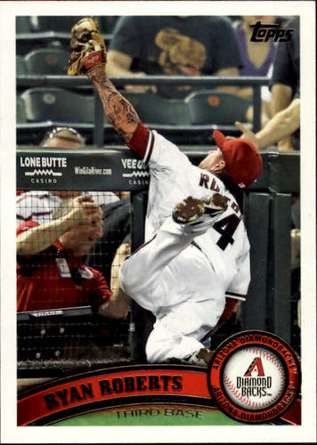 Photo of 2011 Topps Update #US237 Ryan Roberts