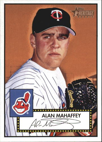 Photo of 2001 Topps Heritage #306 Alan Mahaffey RC