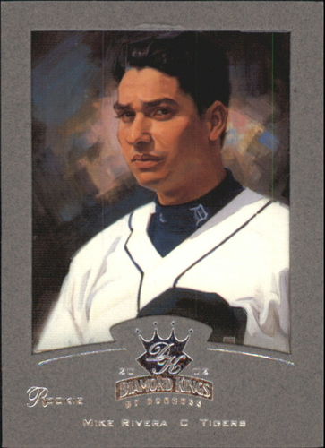 Photo of 2002 Diamond Kings Silver Foil #120 Mike Rivera