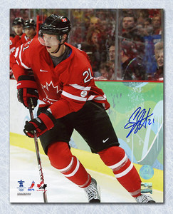 Eric Staal Team Canada Autographed 2010 Olympic 8x10 Photo *New York Rangers*