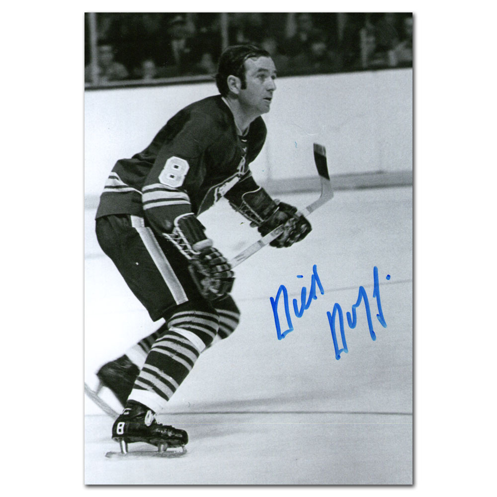 Dick Duff Autographed Buffalo Sabres 5X7 Photo