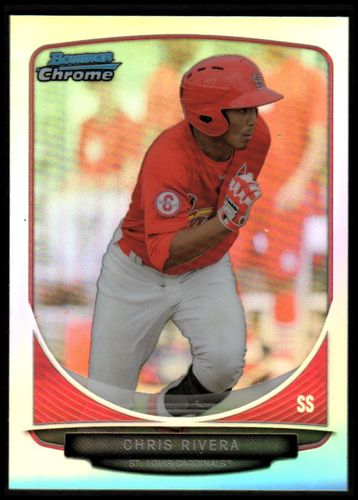 Photo of 2013 Bowman Chrome Mini Refractors #187 Chris Rivera