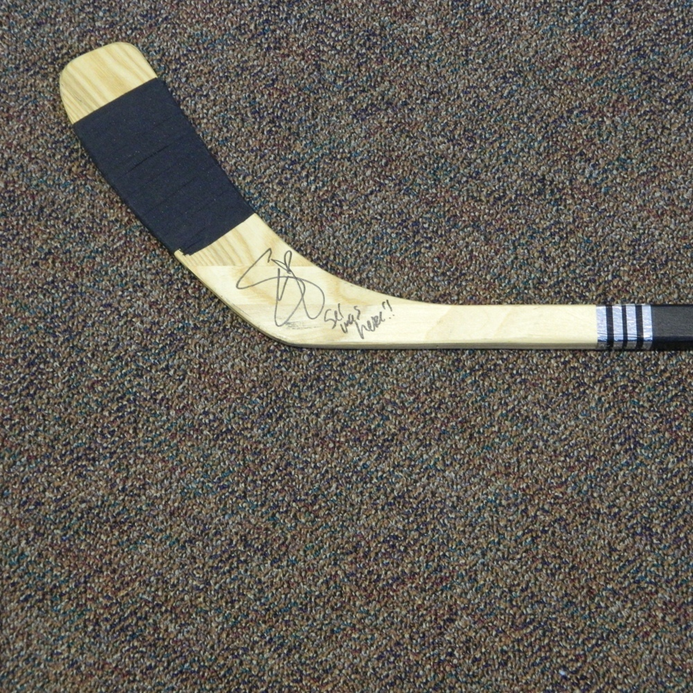 Flyers Charities Stick Auction: Selena Gomez Signed Philadelphia Flyers Stick