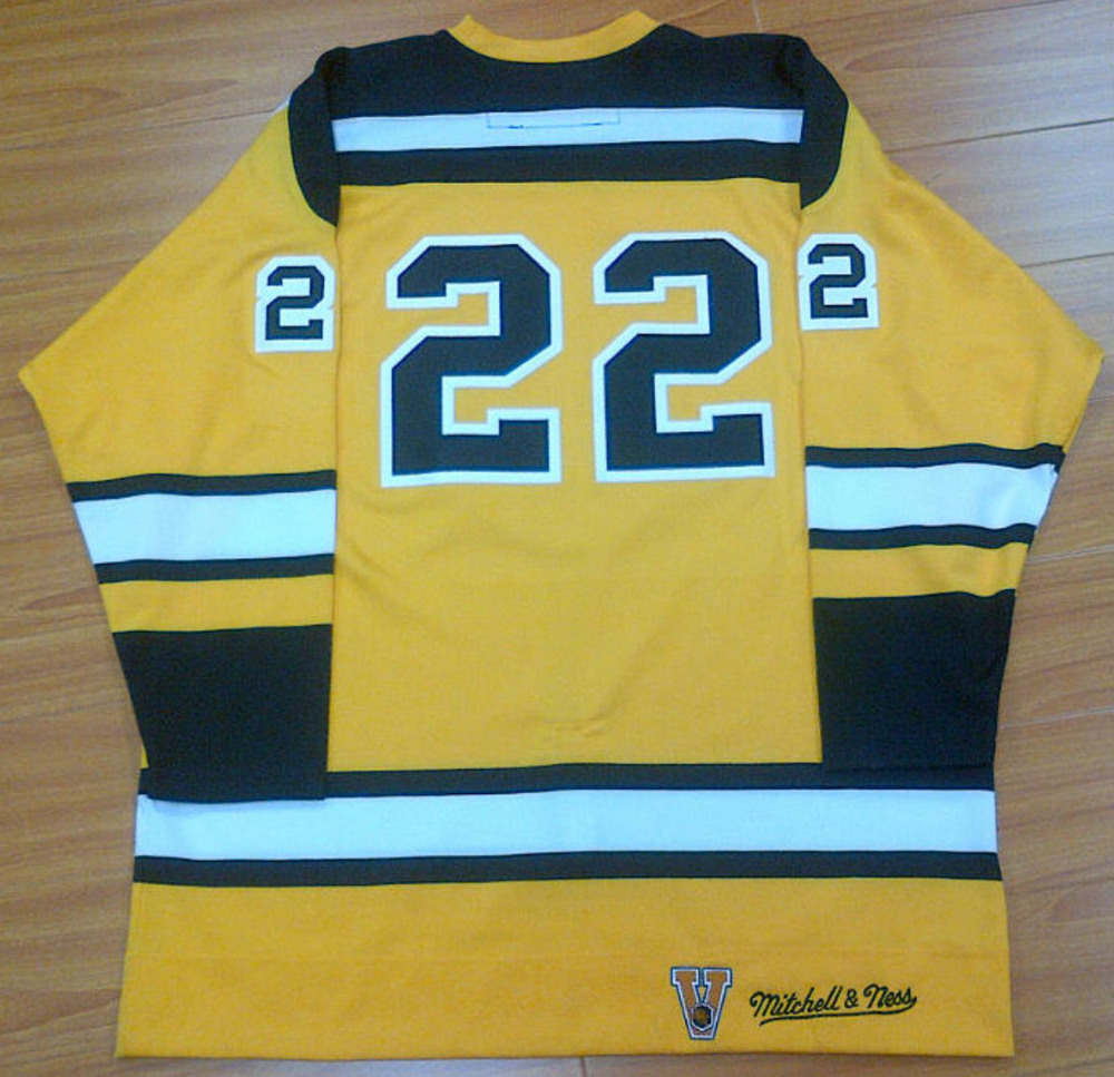 WILLIE O'REE Boston Bruins Mitchell & Ness Sized 53 Jeresy *NOT AUTOGRAPHED*