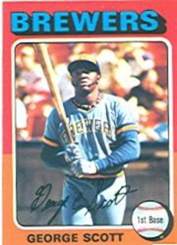 Photo of 1975 Topps #360 George Scott
