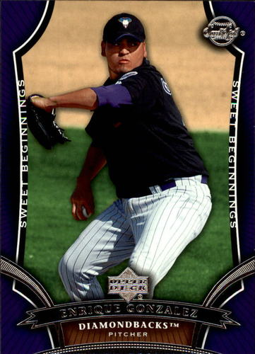 Photo of 2005 Sweet Spot #112 Enrique Gonzalez SB RC