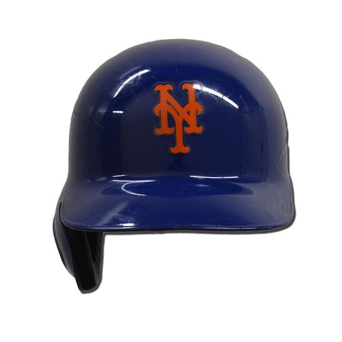 Josh Smoker #49 - Game Used Batting Helmet - Mets vs. Braves - 9/26/17