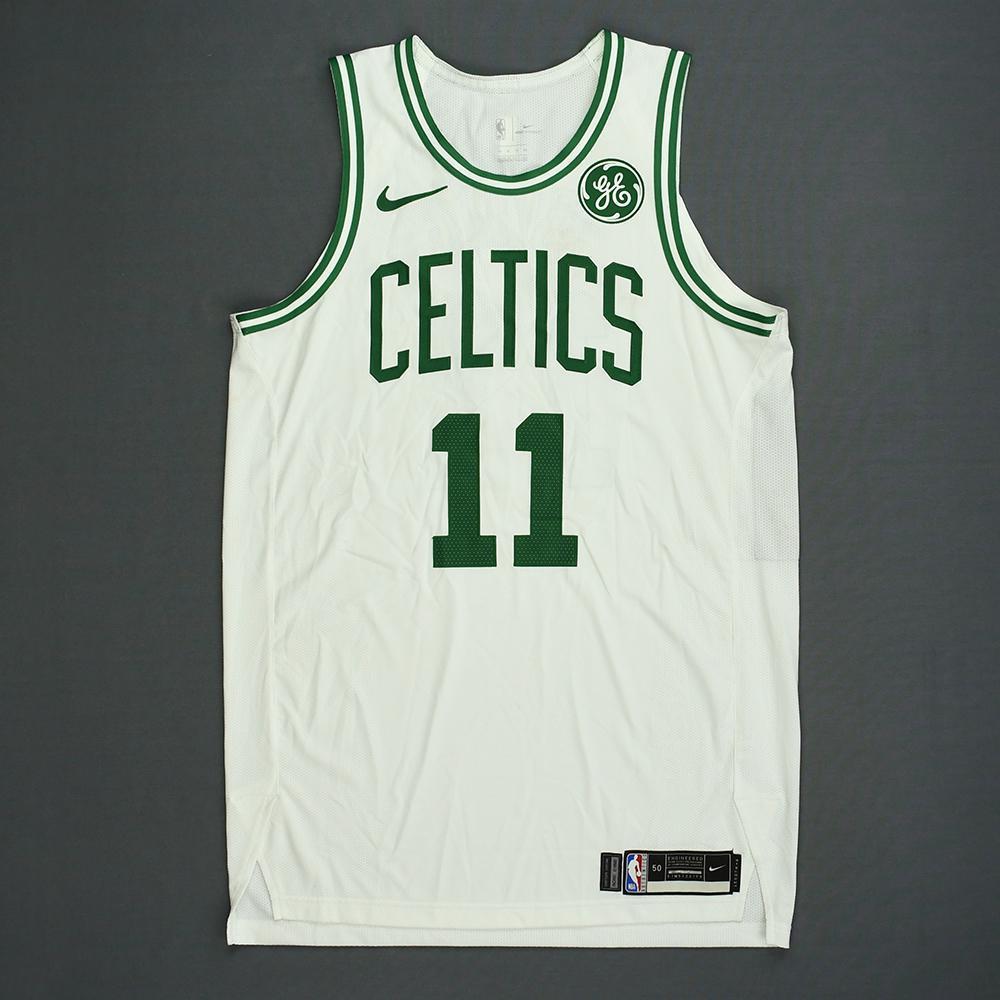 Kyrie Irving - Boston Celtics - Kia NBA Tip-Off 2018 - Game-Worn Association Edition 1st Half Only Jersey