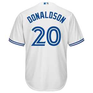 Toronto Blue Jays Men's Cool Base Replica Josh Donaldson Home Jersey by Majestic