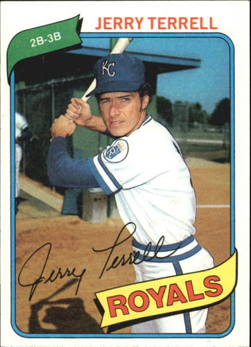 Photo of 1980 Topps #98 Jerry Terrell