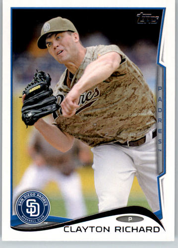 Photo of 2014 Topps #186 Clayton Richard