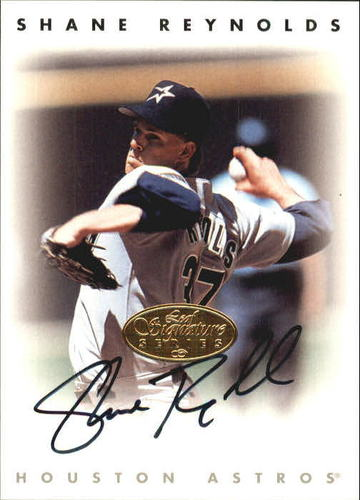 Photo of 1996 Leaf Signature Autographs Gold #192 Shane Reynolds
