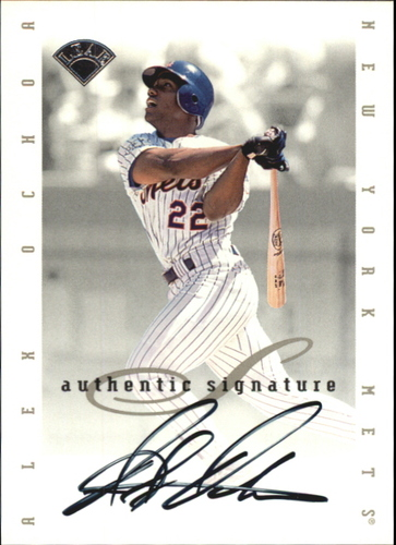 Photo of 1996 Leaf Signature Extended Autographs #145 Alex Ochoa