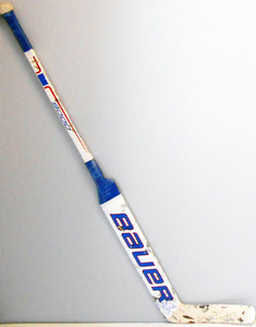 #30 Henrik Lundqvist Game Used Stick - Autographed - New York Rangers