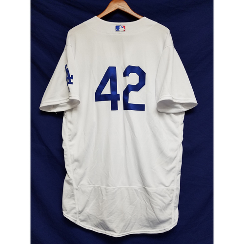 "Photo of Kenley Jansen Game-Used ""42"" Jersey"