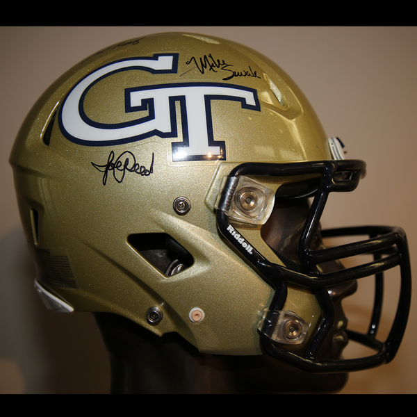 Georgia Tech Autographed Full-Size Football Helmet
