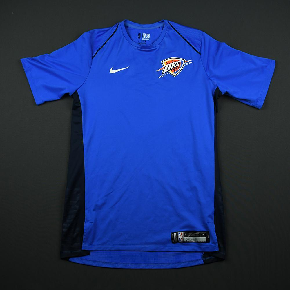 Paul George - Oklahoma City Thunder - 2018 JBL Three-Point Contest - Event-Worn Shooting Shirt