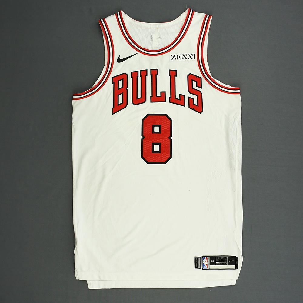 Zach LaVine - Chicago Bulls - Kia NBA Tip-Off 2018 - Game-Worn Association Edition Jersey