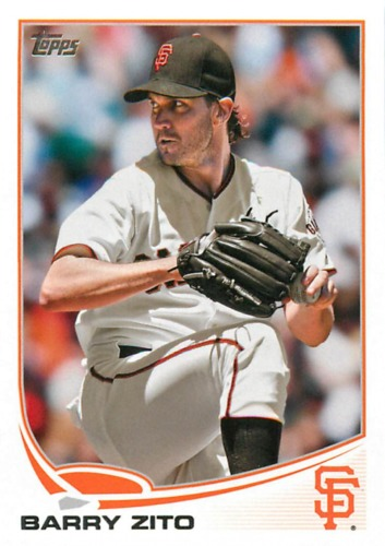 Photo of 2013 Topps #75 Barry Zito