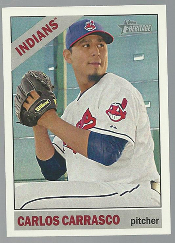 Photo of 2015 Topps Heritage #191 Carlos Carrasco