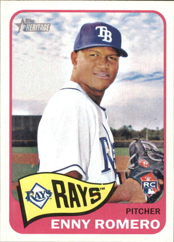 Photo of 2014 Topps Heritage #H506 Enny Romero RC