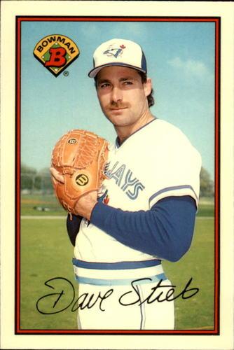 Photo of 1989 Bowman Tiffany #239 Dave Stieb