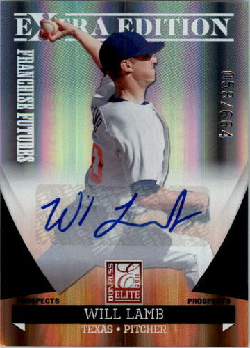 Photo of 2011 Donruss Elite Extra Edition Franchise Futures Signatures #39 Will Lamb