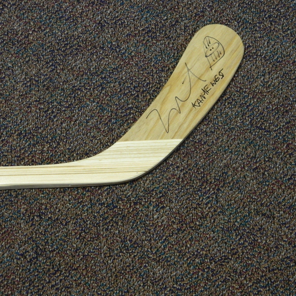 Flyers Charities Stick Auction: Kanye West Signed Philadelphia Flyers Stick