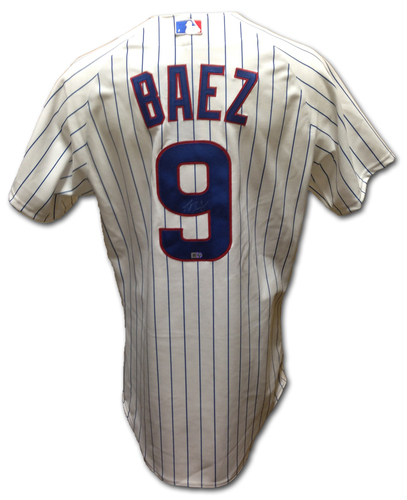 Photo of Javier Baez Autographed Jersey