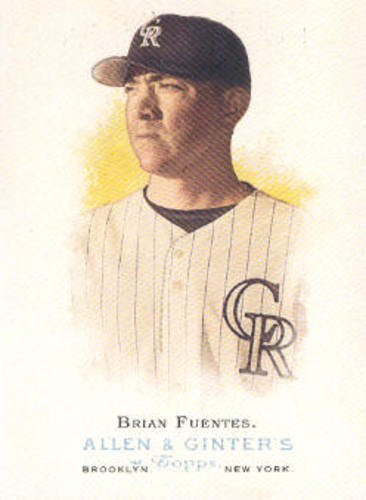 Photo of 2006 Topps Allen and Ginter #198 Brian Fuentes