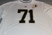 NFL - REDSKINS TRENT WILLIAMS 2016 PRO BOWL WHITE T-SHIRT WITH NAME AND NUMBER - SIZE 3XL