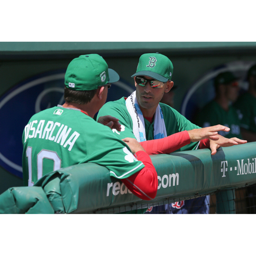 Photo of Red Sox Foundation St. Patrick's Day Jersey Auction - Gary Disarcina Game-Used & Autographed Jersey