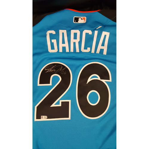 Photo of Avisail Garcia 2017 Major League Baseball Workout Day/Home Run Derby Autographed Jersey