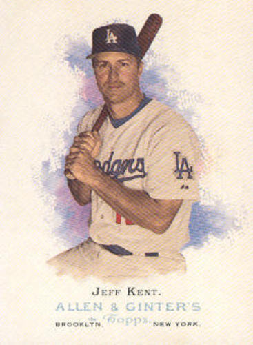 Photo of 2006 Topps Allen and Ginter #40 Jeff Kent