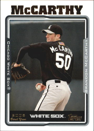 Photo of 2005 Topps Update #264 Brandon McCarthy Rookie Card -- Dodgers post-season