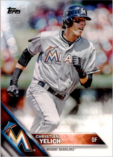 Photo of 2016 Topps #223 Christian Yelich